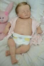 Evie nach Bausatz Laura Lee Eagles Reborn Baby Puppe mit Bauchplatte,Rebornbaby