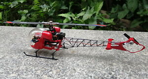 130 class RC helicopter bell-47 scale fuselage