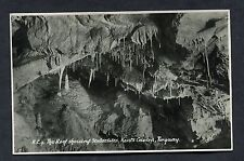 C1960's View of the Roof & Stalactities Inside Kents Cavern, Tourquay.