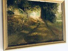Vintage Landscape Oil Painting Signed
