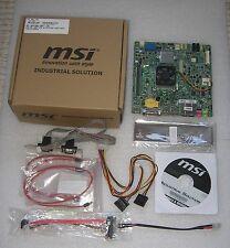 MSI MS-9897 Mini-ITX Motherboard intel i5, 4GB DDR3, mini-PCIe, USB3, HDMI, 12V