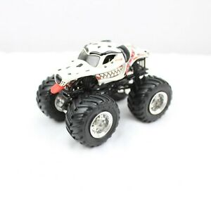 Hot Wheels Monster Jam 2007 Mattel Monster Mutt Dalmatian Truck 3.5 in