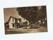 """N° 9913 / carte postale RIORGES """" le relais de paris """" RN 7 route bleue MOBILOIL"""