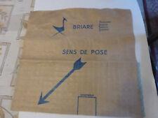 émaux de Briare - mosaïque ancienne collector encore sur carte pour pose bleu