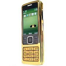Nokia Brand 6300 Gold New Condition Unlocked Camera Bluetooth Classic Phone