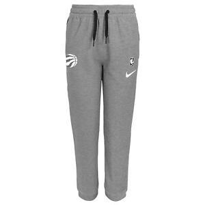 Nike NBA Youth (8-20) Toronto Raptors Heathered Grey Showtime Pants