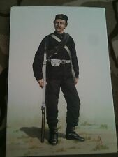 Military Postcard 43rd Monmouthshire Light Infantry 1863-66 by Alix Baker