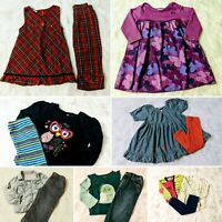 Baby Girls Size 24m/2t Fall & Winter Clothing Lot