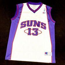 NEU Champion Steve Nash Suns NBA Trikot Basketball Jordan Kobe Jersey Lebron L