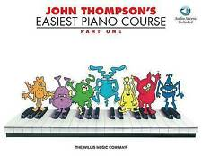 NEW John Thompson's Easiest Piano Course - Part 1 - Book & Online Audio