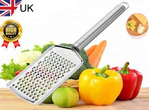 STAINLESS STEEL HAND FOOD GRATER cheese Parmesan Garlic Ginger Nutmeg Lemon