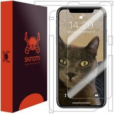 "Skinomi FULL BODY Clear Skin+Screen Protector For Apple iPhone XS Max (6.5"")"