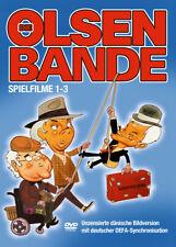 DVD Die Olsenbande - Spielfilme 1-3  3 DVDs - DEFA Synchrosnisation