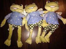 1Stück- Ikea Frosch Fabler Hose Groda Stofftier Plüschtier Flügel grün Blau Frog
