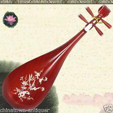 Liuqin - Chinese Soprano Pipa Lute Guitar Handmade Musical Instrument #4165