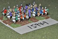 15mm classical / macedonian - pikemen 24 figs - inf (15949)