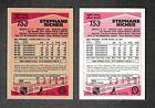 """1989-90 O Pee Chee """"Tembec Test"""" & Regular Cards Canadiens #153 Stephane Richer"""