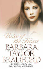 Voice of the Heart by Barbara Taylor Bradford (Paperback, 1984)