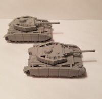 1/72  1:100  1:200 panzer 4 full skirt x2 Scale 3d Printed WW II Model Tank