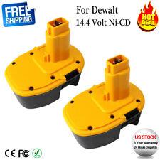2x For 14.4V Dewalt XRP Battery DW9091 DC9091 DW9094 DE9091 Cordless Power Tools