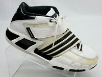 Adidas TMAC Piranha 3.0 Mens Size 12 Basketball Shoes 375595 White Black