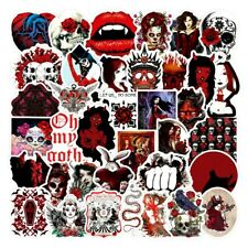 20 Unusual Colour  Horror Gothic / Goth Stickers Laptop / Walls / PC'S