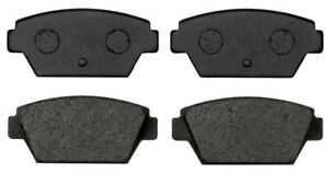 Disc Brake Pad Set-Organic Disc Brake Pad Rear ACDelco Pro Brakes 17D329