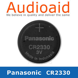 PANASONIC CR2330 LITHIUM BATTERY 3V - Up to 20% off the more you buy