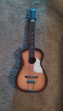 Norma 1967 3/4 Parlor Guitar With Steel Reinforced Neck - Fg-3 Model - Rare
