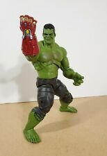 Marvel Legends BAF Endgame Smart Hulk Bruce Banner & Nano Power Gauntlet