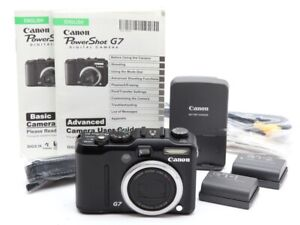 Very Clean Canon Powershot G7 Digital Camera Body with Two Batteries #33092