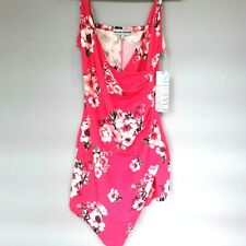 Almost Famous Junior Size Large Romper Floral Pink New with Tags