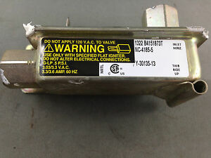 CHEF GAS OVEN VALVE THERMAL HSI SINGLE  0136001206 NC-4185-5 GWH540WNG
