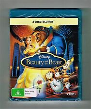 Beauty And The Beast - Walt Disney Blu-ray 2-Disc Set Brand New & Sealed