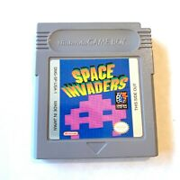 Space Invaders ORIGINAL NINTENDO Gameboy Game TESTED + WORKING & AUTHENTIC!