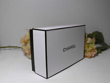 Chanel Black & White Signature Gift Box 8.5'' x 5.5'' x 3''