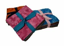 """102 Jewel Tones  pre cut charm pack 5"""" squares 100% cotton fabric quilt"""