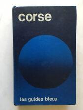 GUIDE BLEU CORSE 1973 GUIDES BLEUS HACHETTE