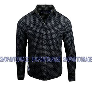 English Heroes by Rock Roll n Soul EHW102 L/S Button Down Woven Shirt for Men