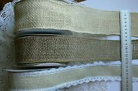 BURLAP Jute Mesh Approx 52 & 65mm Wired 2 & 2.5Metres 3Style Choice MayArtsLRD11