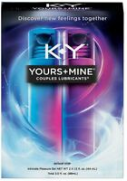 K-Y Yours + Mine Couples Lubricant & Intimate Gel 3 oz