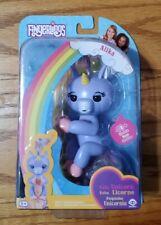 WowWee Fingerlings Alika Interactive Unicorn Toy - Light Purple