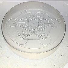 """Soap, Orgone, Organite Or Resin Mold Sacred Geometry Metatron's Cube 4"""" Diameter"""