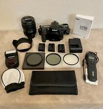 *Mint* Nikon D750 with Wifi +Nikkor f/4G Vr Lens+Accessories,13276 Shutter Count