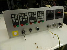 Emco CNC Lathe Operator Interface Panel, A7G715000, Used, Warranty