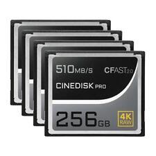 CINEDISKPRO CFast 2.0 Memory Card 4K RAW 256GB/512GB/1TB