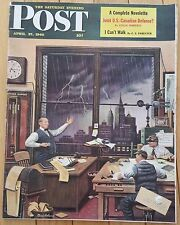 SATURDAY EVENING POST APRIL 27 1946 RED DEVILS LOCKHEED AIRCRAFT LESLIE FORD