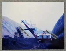 "Vintage 8 1/2"" X 11"" Color Photo copy of Minnesota? Coal Mining Shovels working"