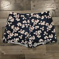 Liz Claiborne Multicolor Womens Size 16 Classic Floral Flat Front Chino Shorts