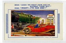 (Sa393-100) Gosh! We might have had an accident there, bill! , 1960 ,used ,VG